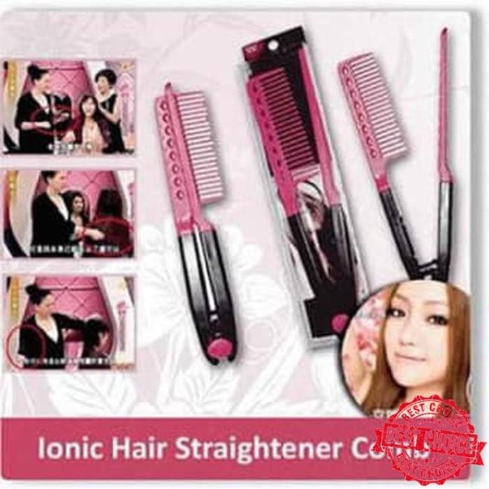 Jual SISIR ION V PELURUS RAMBUT ( ionic hair straightener comb ... ba21c3646f