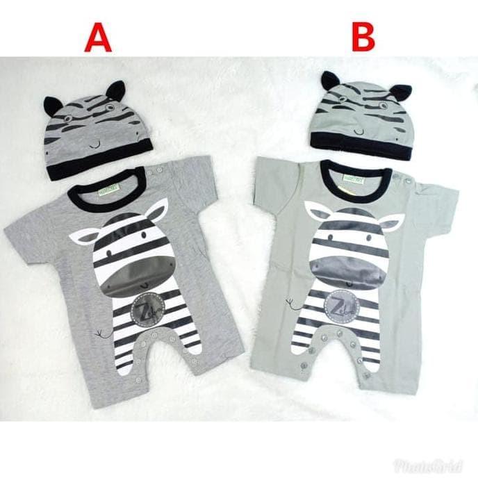 a2f1528e1 Jual Promo Baju Bayi Laki Laki Romper Jumper Bayi Lucu Zebra - All ...