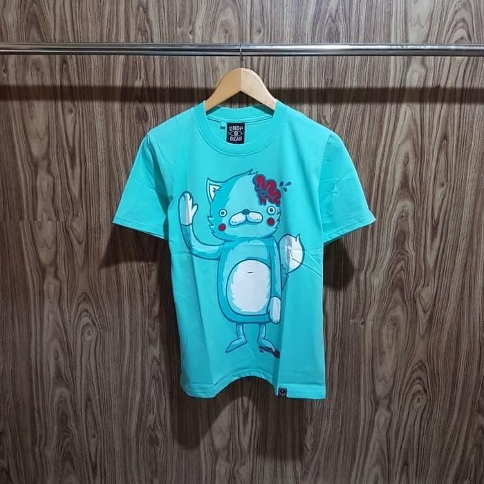 harga Kaos / tshirt / baju dropdead kitty brain premium distro Tokopedia.com