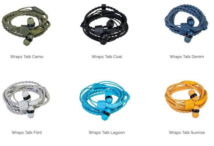 harga Wraps wristband headphone natural Tokopedia.com