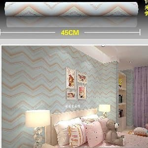 jual wallpaper sticker dinding uk 10 meter x 45 cm - 99927 murah