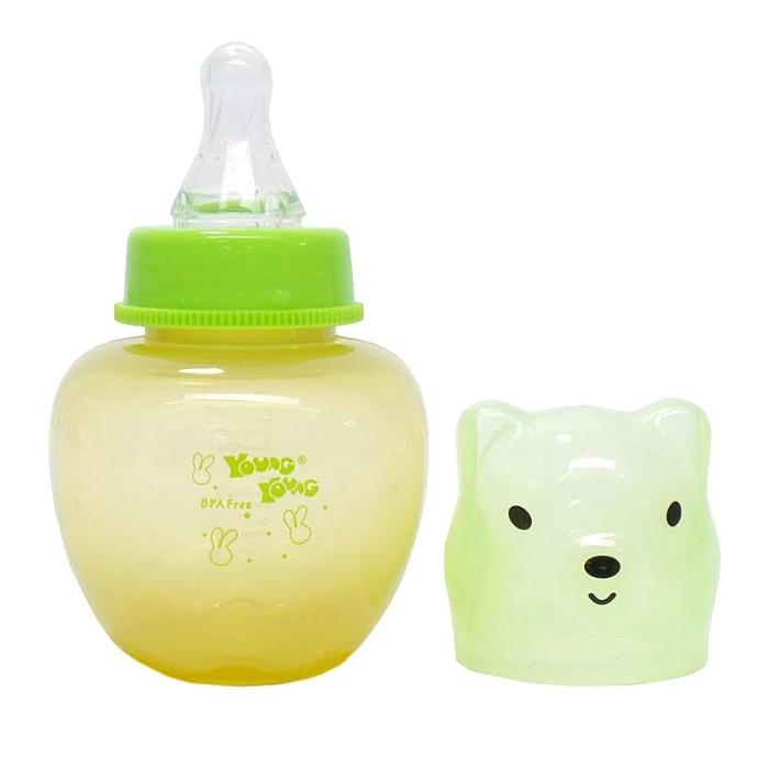 YOUNG YOUNG Botol Susu [160ML] Apple Feeding Bottle Asi IL-816 Hijau