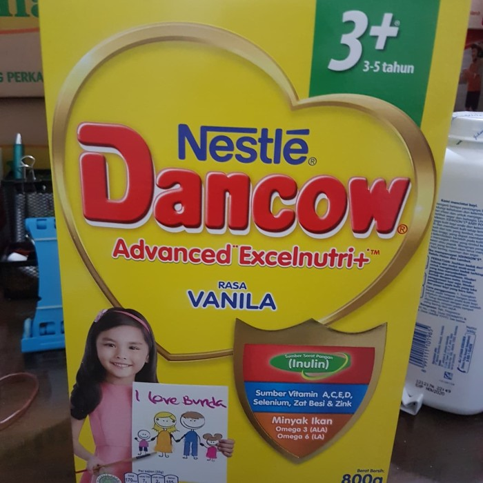 Foto Produk DANCOW 3+ VANILA. 800 GRAM dari Soen box