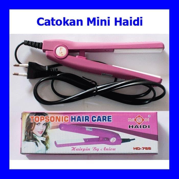 Jual Catok Amara Hair Straightener Catokan Rambut 2in1 Catok Rambut Source · Catok Rambut Mini Haidi Topsonic Hair Care Lurus Ikal