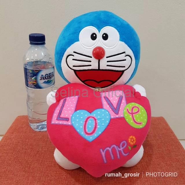 Jual Boneka Anak Murah Boneka Doraemon Love Ukuran Kecil - Selina ... 3570696f1a