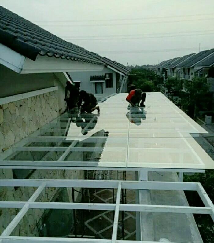 Hasil gambar untuk kanopi kaca tempered