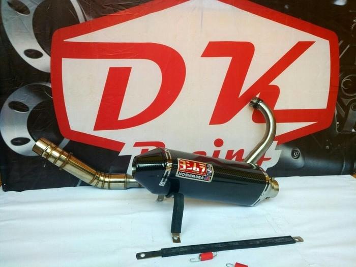 harga Knalpot Racing Honda Tiger Revo  Yoshimura Usa Carbon Fullsystem High Peforma Blanja.com