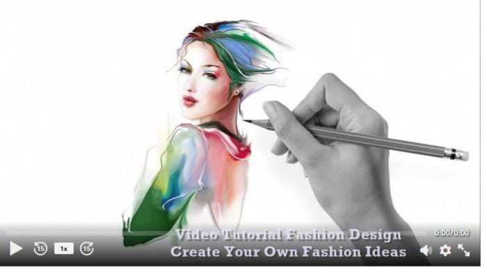 Jual Video Tutorial Fashion Design Create Your Own Fashion Ideas Jakarta Barat Imamkastowo Store Tokopedia