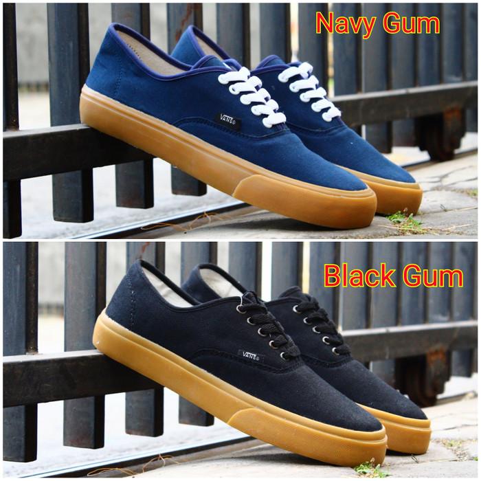 Sepatu vans authentic sepatu vans pria sepatu vans oldskool navy hitam