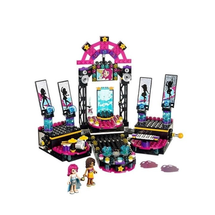 Jual Lego Friends Lego Pop Star Show Stage Set 41105 Moss Shop