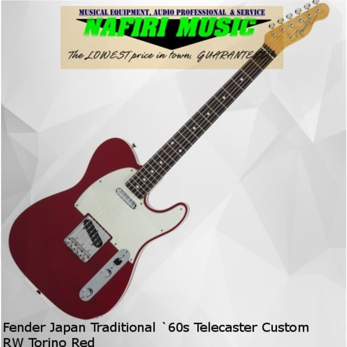 harga Fender japan traditional `60s telecaster custom rw torino red Tokopedia.com