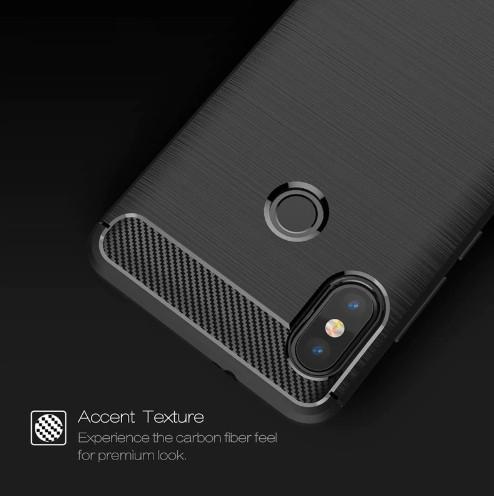 Xiaomi Redmi Note 5/5 Pro - Carbon Fiber Case Rugged Armor Spigen Like