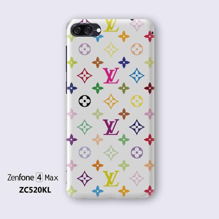 df23f646dd56b Asus Zenfone 4 Max ZC520KL Hard Case Custom 3D fullprint Louis Vuitton -  Hitam