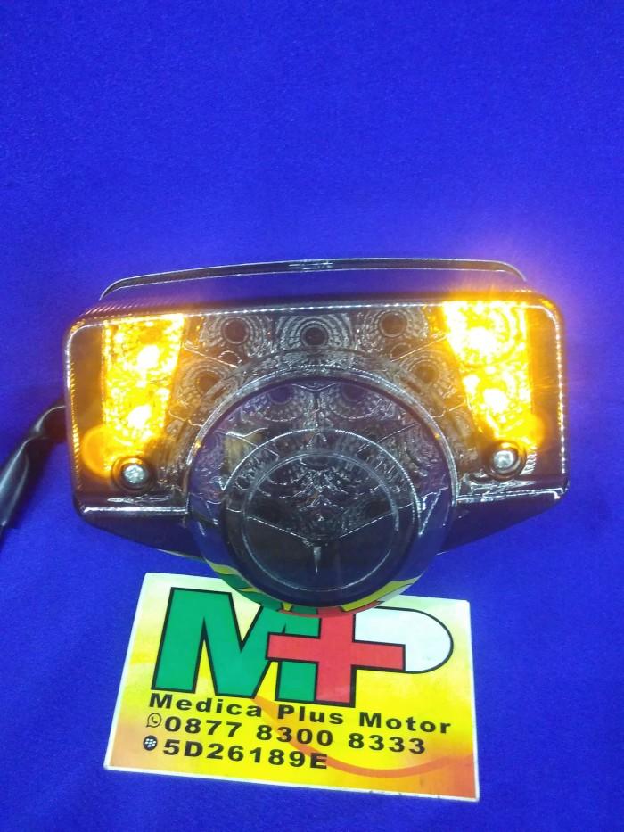 harga Stop lamp stoplamp lampu rem belakang cb cg led combinasi sen klasik Tokopedia.com