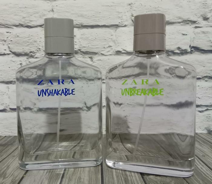 Parfum Ori Zara Unshakeable 100 ml & Zara Unbreakable 100 ml Zara man
