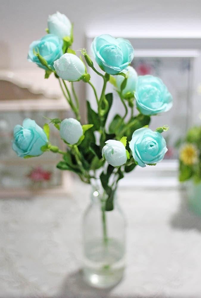 ... harga Bunga plastik hias hiasan artificial artifisial mawar rose ros  ross b3 Tokopedia.com 06cc54a7a2