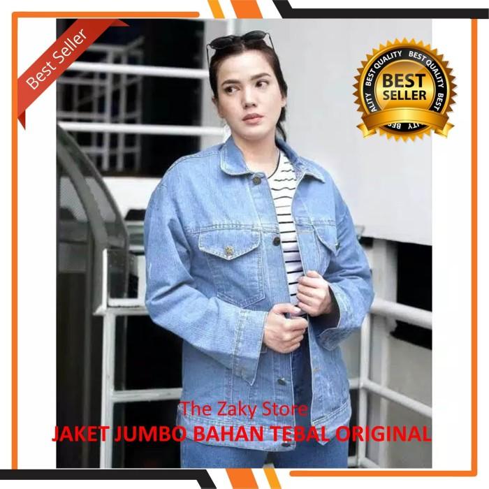 harga Jaket jeans wanita oversized   jaket levis cewek denim distro murah  Tokopedia.com 2fa526e36e