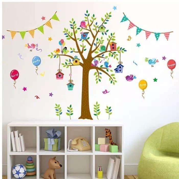 jual terbaru termurah wall sticker / stiker dinding 3d kamar mandi