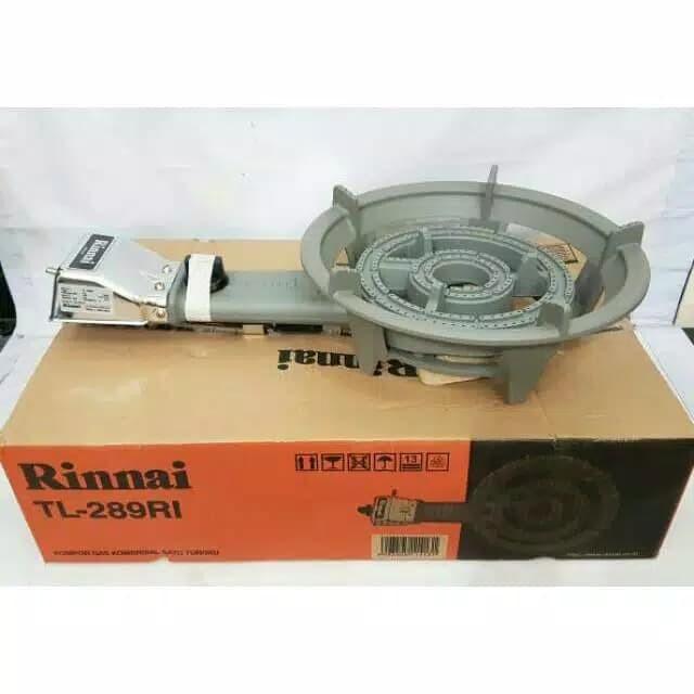 Foto Produk Kompor RINNAI 1 tungku TL 289 RI low pressure dari SJ Sinar Jaya