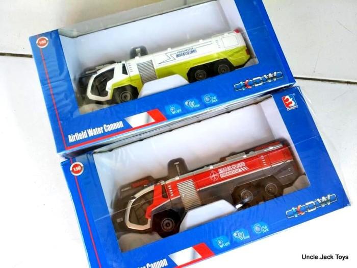 harga Miniatur alat berat - kdw airfield water canon - firefighter truck Tokopedia.com