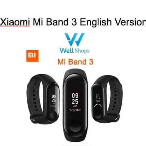 harga Xiaomi Mi Band 3 Non Nfc Chinese Standard Version Blanja.com