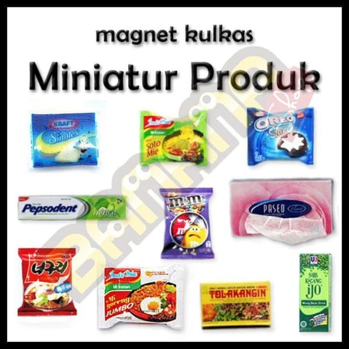 organizer rak wadah Tempat tisue tissue tissu gulung kotak Gantungan lap bumbu. Source · 354. Source · Magnet Kulkas - Miniatur Produk (Paket 4)
