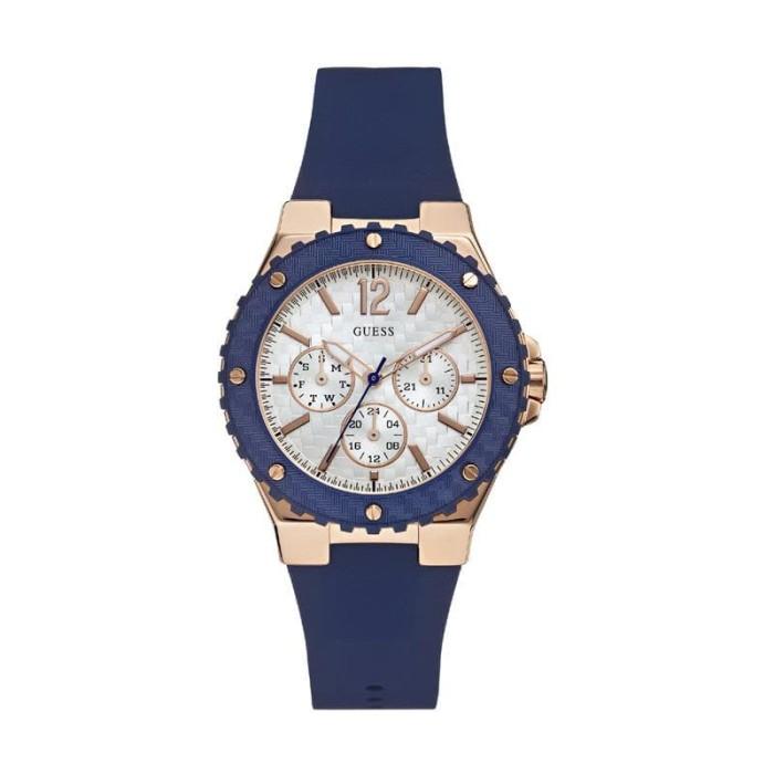 harga  guess overdrive w0149l5 rose gold blue mop dial jam tangan wanita Tokopedia.com