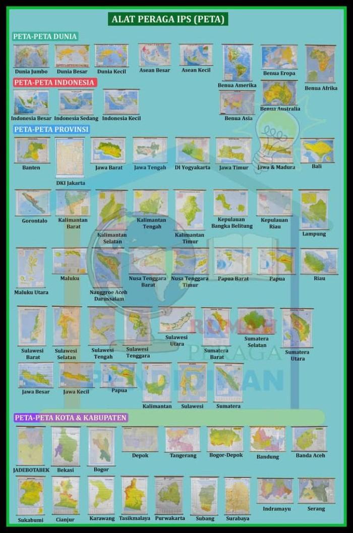 Katalog Peta Bingkai DaftarHarga.