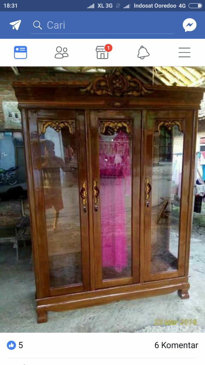Jual Lemari Gamis Jati Jakarta Timur Asfha Furniture