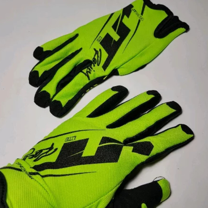 YOUNG Latex Gloves IL SARUNG TANGAN 7 5INCH Karet Rubber Orange Source Jual .