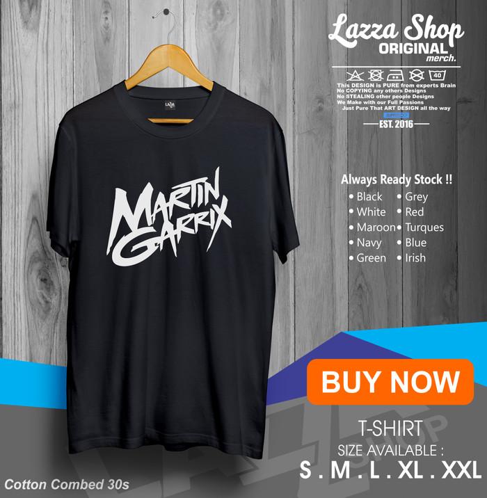 Kaos / Baju /T-shirt Musik DJ Martin Garrix Distro keren Murah -