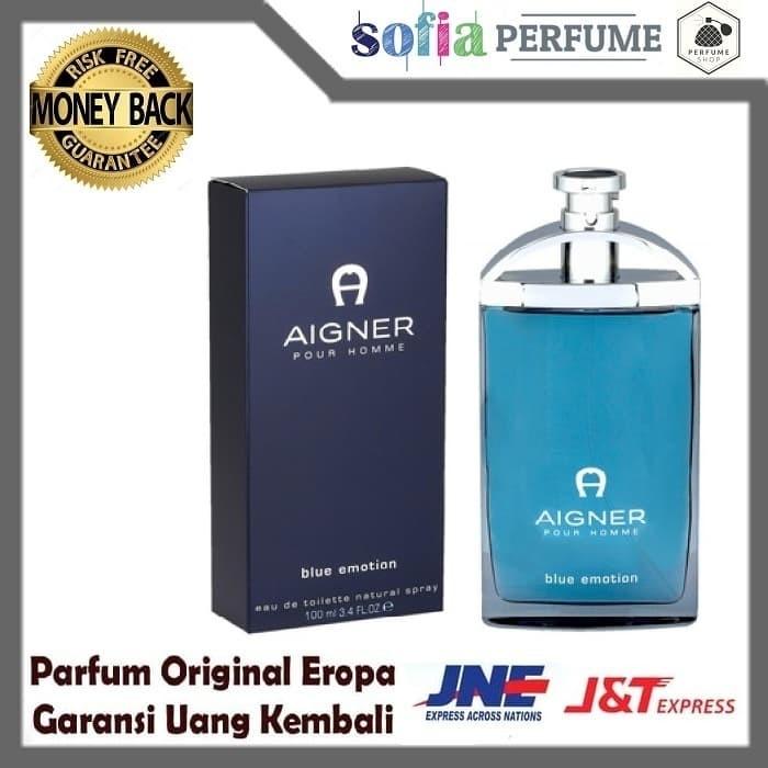 harga Parfum original aigner blue emotion 100 ml Tokopedia.com