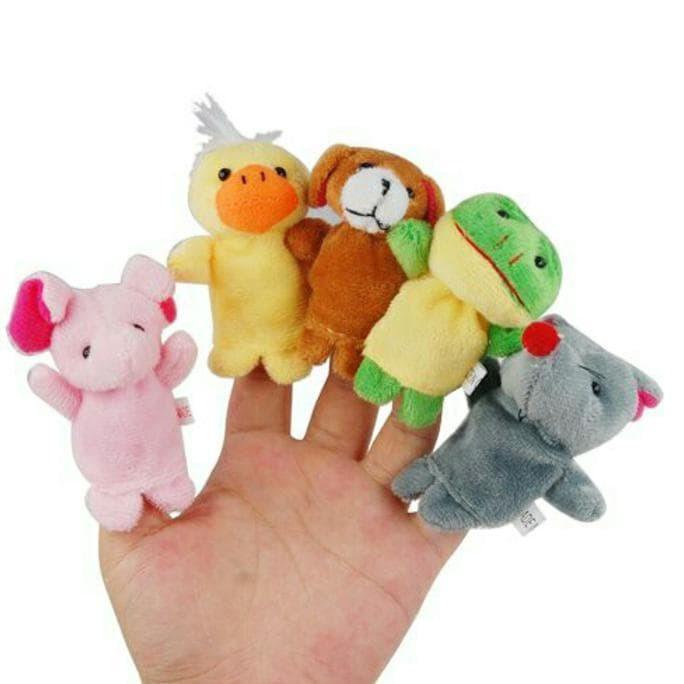 Jual Termurah Boneka Jari Tangan Hewan   Finger Puppet Animal Isi 10 ... 7e3eb1bc8f