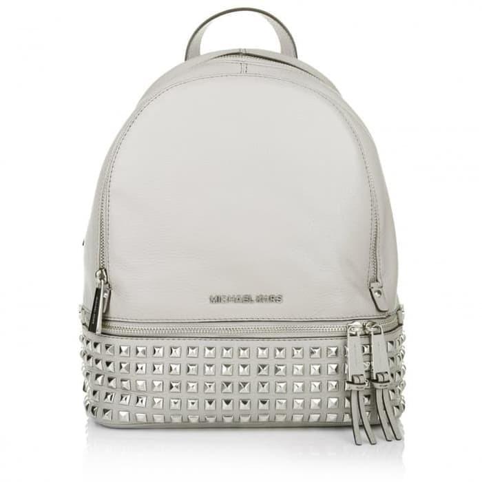 6a470fd862bb3c Jual Michael Kors Rhea Medium Studded Leather Backpack - Original ...