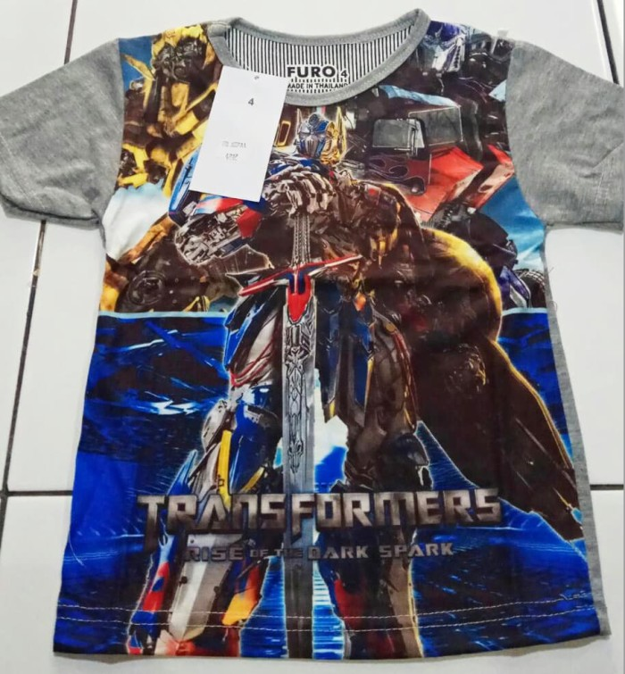 harga Kaos anak laki-laki transformers 4202 merk furo Tokopedia.com