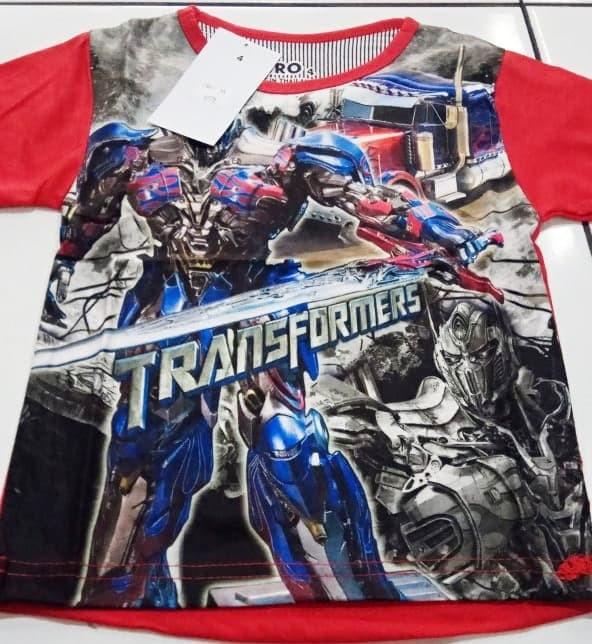 harga Kaos anak laki-laki transformers 4078 merk furo Tokopedia.com