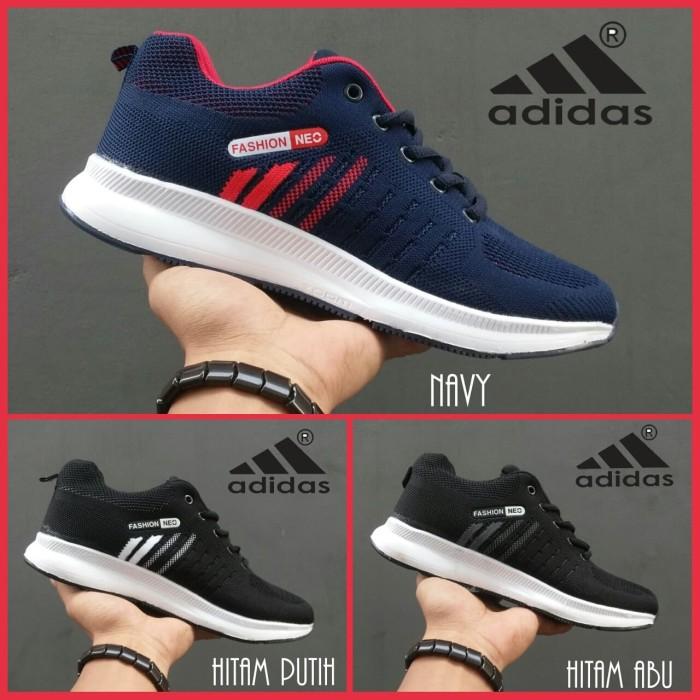 harga Sepatu Pria Adidas Marathon Running Olahraga Dan Lifestyle A5612 Blanja.com