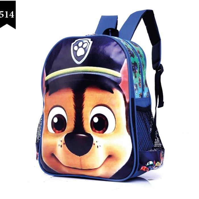 OMN 5920   Tas Ransel Karakter anak Sekolah branded Garsel Fashion