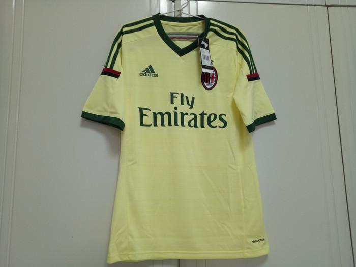 harga Original jersey ac milan 14/15 3rd bnwt Tokopedia.com