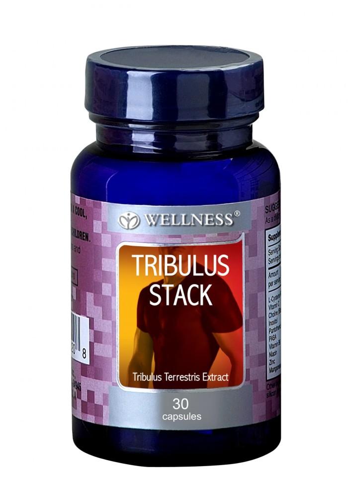 Wellness Tribulus Stack - Suplemen Stamina Pria - 30 Kapsul - Vitamin