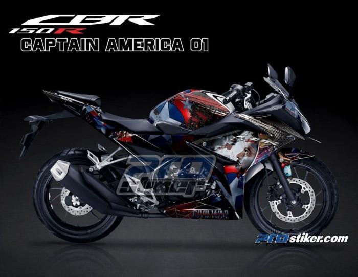 Jual Decal Sticker Honda Cbr 150r Modif Gambar Captain America Full Body Kota Yogyakarta Stiker Motor Prostiker Tokopedia