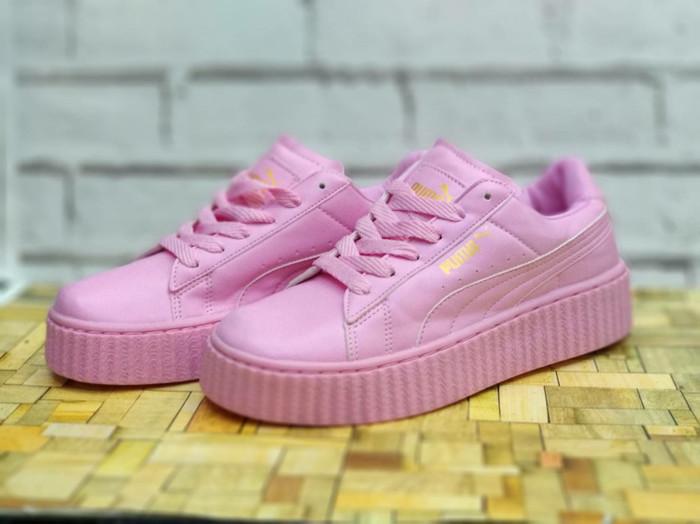 Sepatu puma rihanna pink sepatu casual running sepatu wanita abaa622074