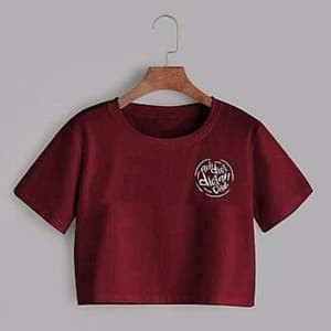 Foto Produk kaos / kaos wanita / crop top / baju / atasan / baju wanita dari nurka fashion shop