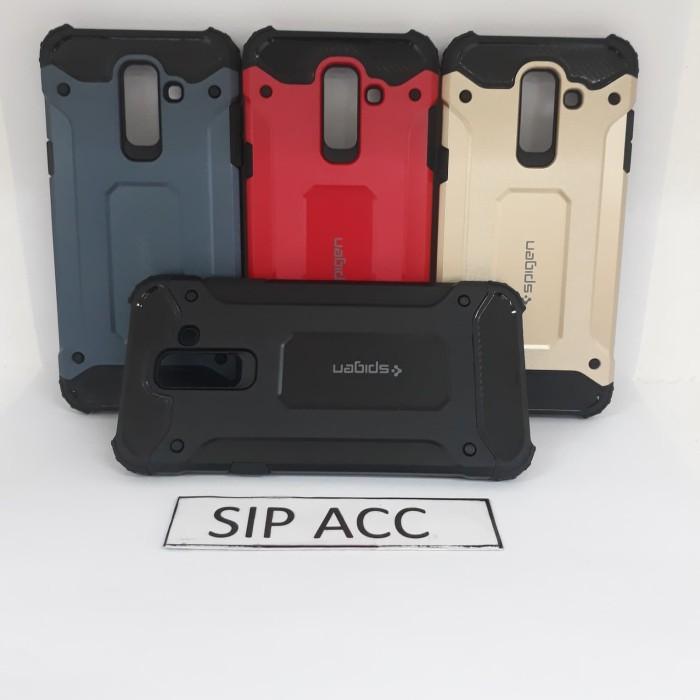 buy online aef62 179ed Jual Case Spigen Iron Samsung Galaxy A6 Plus 2018 - DKI Jakarta - SIP ACC    Tokopedia