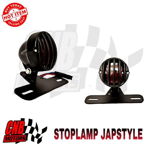 harga Lampu stop custom stoplamp japstyle caferacer streetcub grill Tokopedia.com