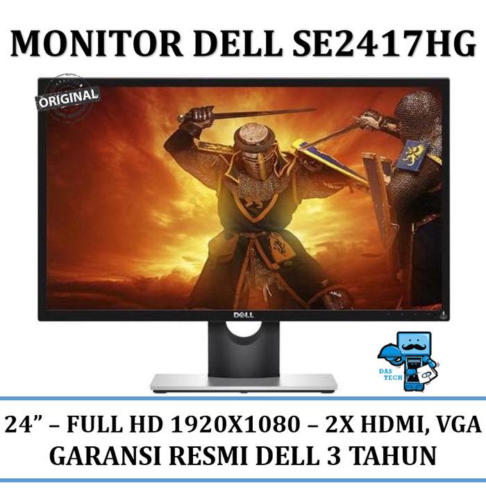 harga Monitor lcd led dell monitor 24  se2417hg Tokopedia.com