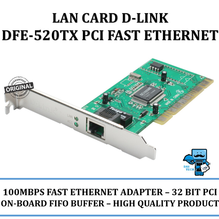 DLINK 520TX LAN CARD DRIVER FOR WINDOWS 8