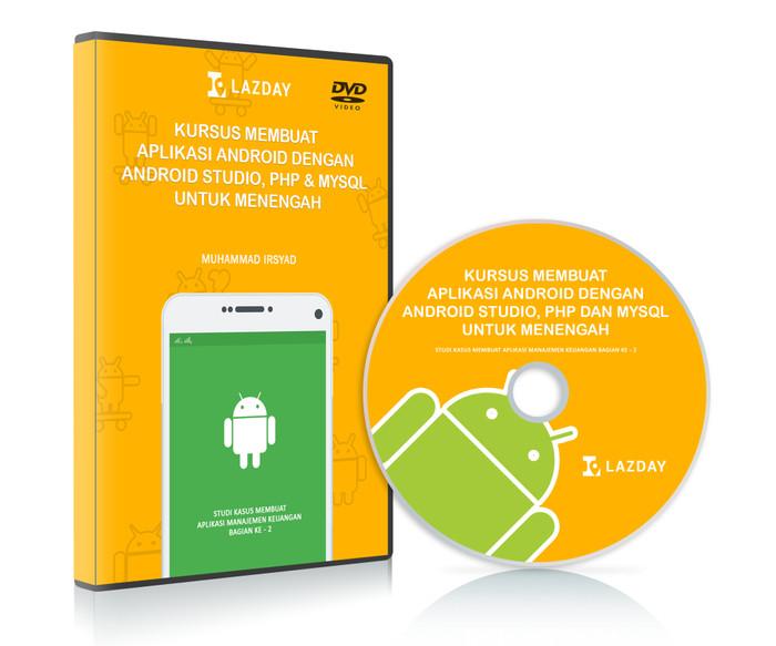 Foto Produk Tutorial Membuat Aplikasi Android Dengan Android Studio Untuk Menengah dari Lazday Indonesia