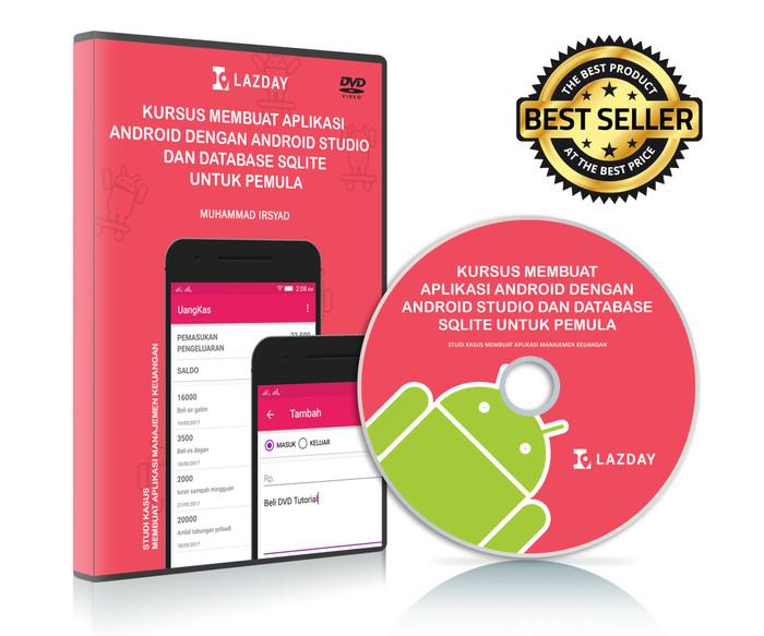 Foto Produk Tutorial Membuat Aplikasi Android Dengan Android Studio Untuk Pemula dari Lazday Indonesia