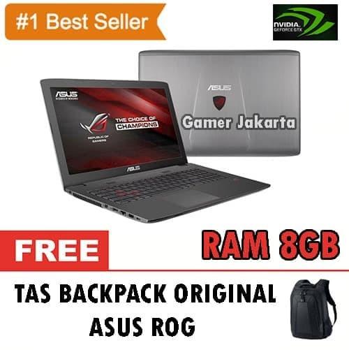 Foto Produk ASUS ROG GL752VW-T4211T - Skylake i7 6700HQ - GTX960M 4GB dari The_Us_Shop